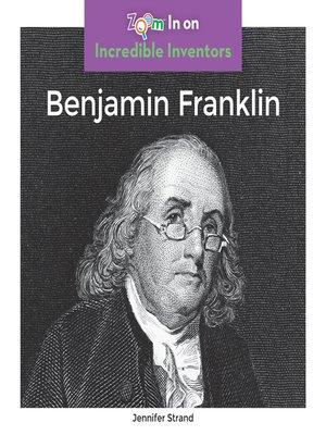 cover image of Benjamin Franklin