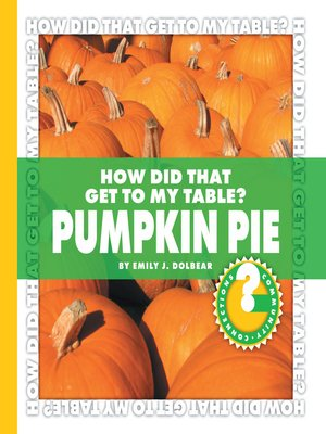 cover image of How Did That Get to My Table? Pumpkin Pie