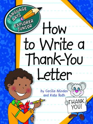 cover image of How to Write a Thank-You Letter