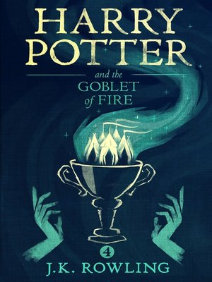 cover image of Harry Potter and the Goblet of Fire