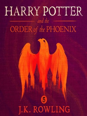 cover image of Harry Potter and the Order of the Phoenix