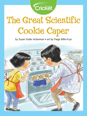 cover image of The Great Scientific Cookie Caper