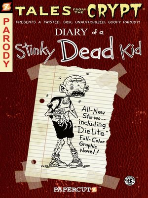 cover image of Diary of a Stinky Dead Kid