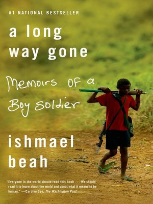 cover image of A Long Way Gone