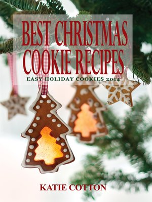 cover image of Best Christmas Cookie Recipes