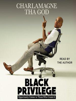 cover image of Black Privilege