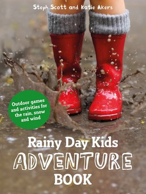 cover image of Rainy Day Kids Adventure Book