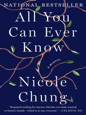 cover image of All You Can Ever Know