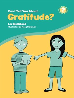 cover image of Can I Tell You About Gratitude?