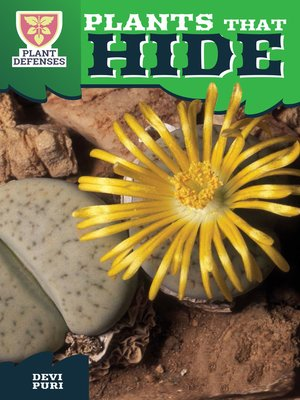 cover image of Plants That Hide