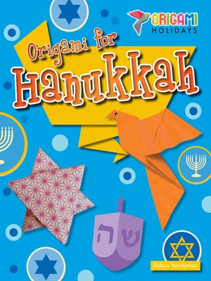 cover image of Origami for Hanukkah