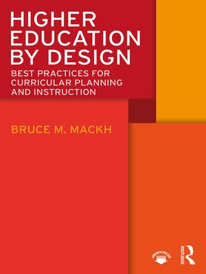 cover image of Higher Education by Design