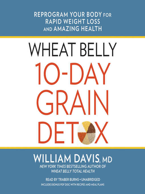 Cover of Wheat Belly 10-Day Grain Detox