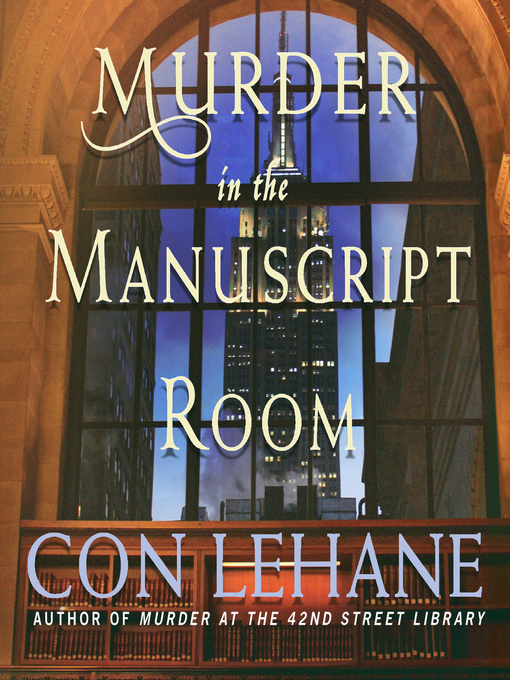 Title details for Murder in the Manuscript Room by Con Lehane - Available