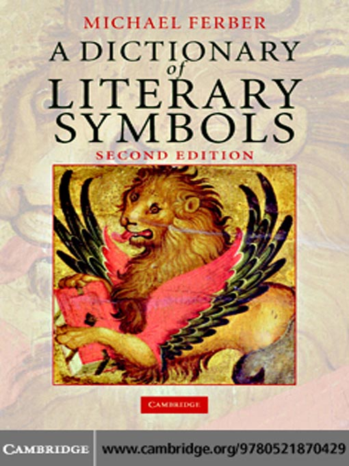 A Dictionary Of Literary Symbols National Library Board Singapore