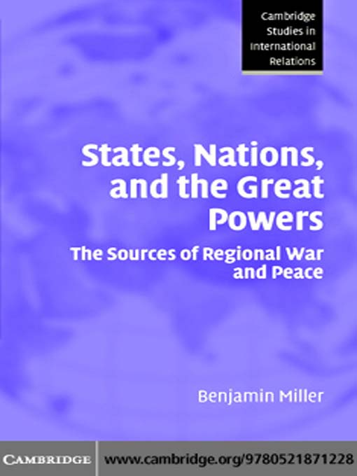 sources of power in international relations