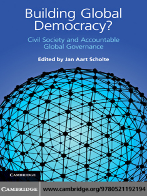 jan aart scholte globalization chapter Globalization: a critical introduction / edition 2 'do we need another book on globalization jan aart scholte is modest enough to pose this question.