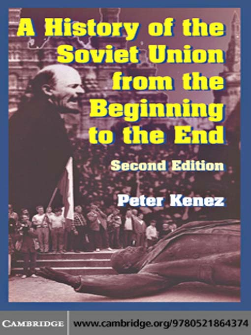 an introduction to the history of the soviet union The soviet union: a very short introduction blends political history with an investigation into the society and culture at the time.