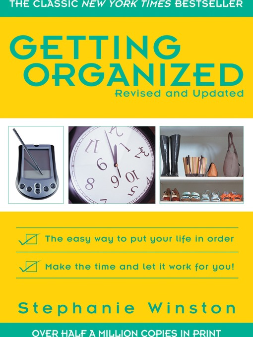 Title details for Getting Organized by Stephanie Winston - Available
