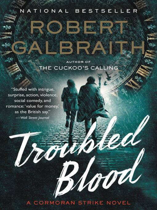Title details for Troubled Blood by Robert Galbraith - Wait list