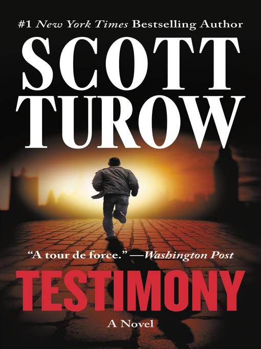 Title details for Testimony by Scott Turow - Available