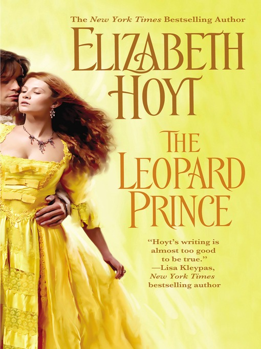 Title details for The Leopard Prince by Elizabeth Hoyt - Wait list