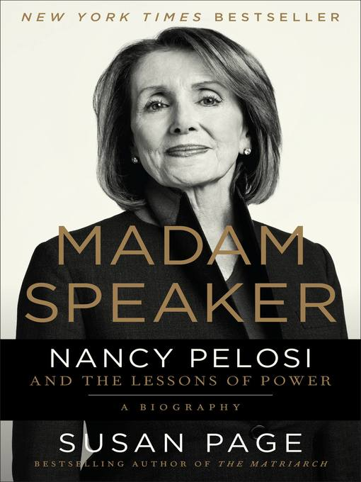 Title details for Madam Speaker by Susan Page - Available