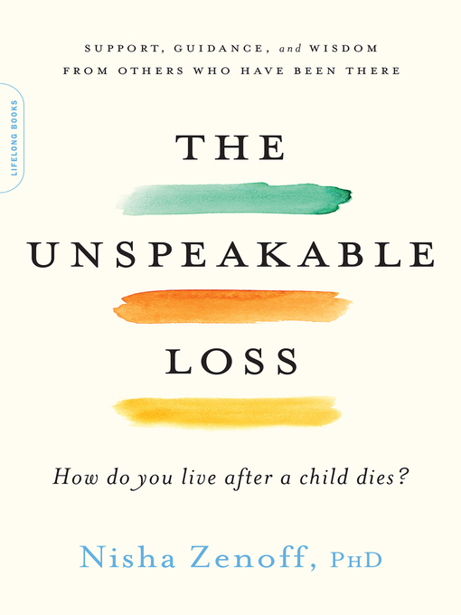 Title details for The Unspeakable Loss by Nisha Zenoff - Wait list
