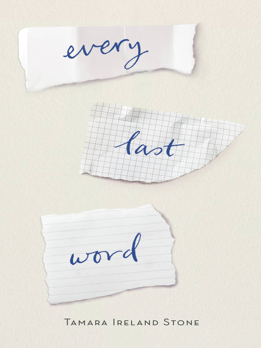 Title details for Every Last Word by Tamara Ireland Stone - Available