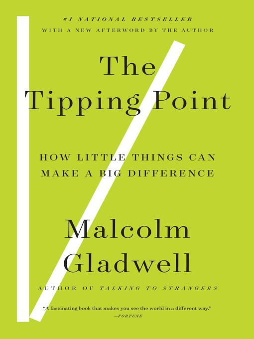 Cover image for book: The Tipping Point
