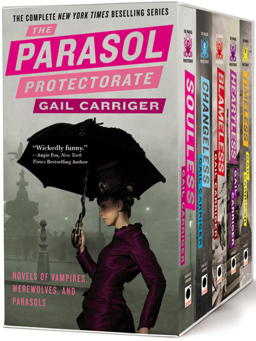 Title details for The Parasol Protectorate Boxed Set by Gail Carriger - Wait list