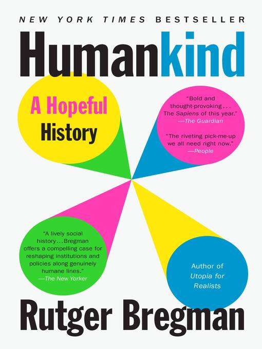 Title details for Humankind by Rutger Bregman - Wait list