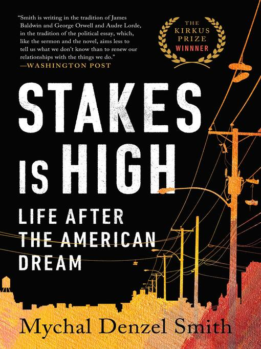 Title details for Stakes Is High by Mychal Denzel Smith - Available