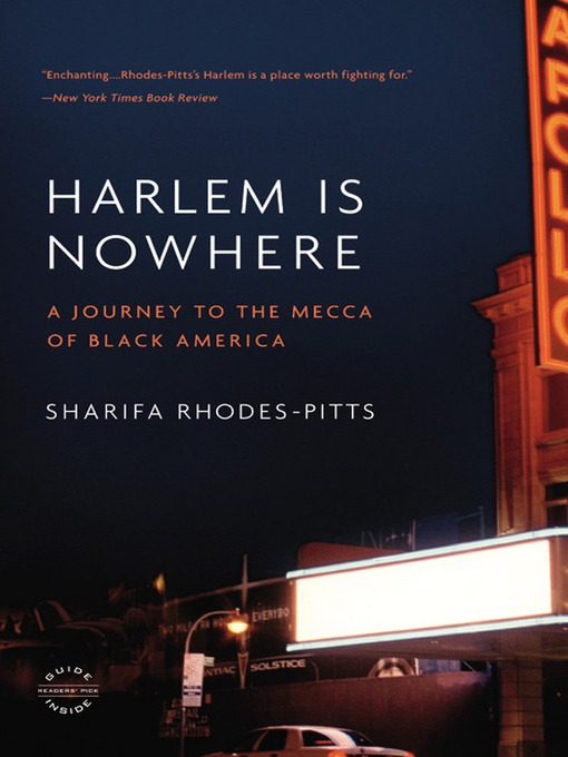 Cover of Harlem is Nowhere