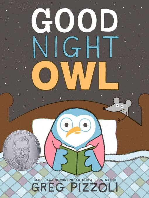 Title details for Good Night Owl by Greg Pizzoli - Wait list