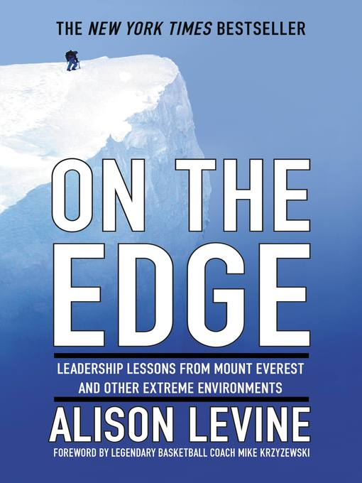 Title details for On the Edge by Alison Levine - Wait list
