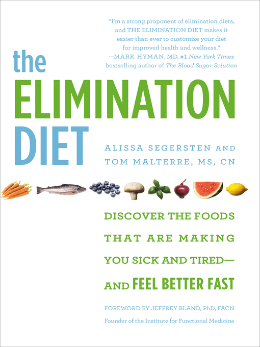 title details for the elimination diet by tom malterre available