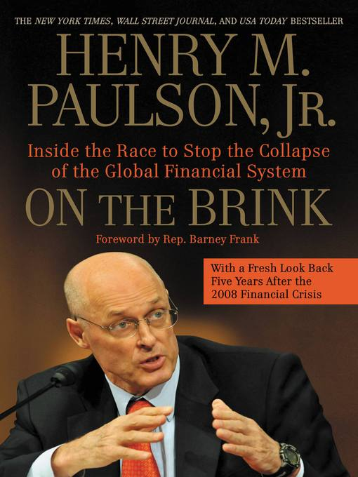 Title details for On the Brink by Henry M. Paulson - Available