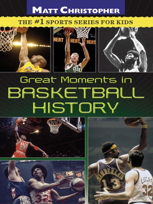 Couverture de Great Moments in Basketball History