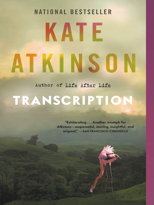 Title details for Transcription by Kate Atkinson - Wait list