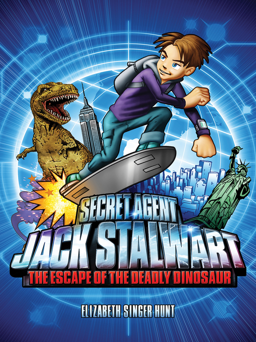 Title details for The Escape of the Deadly Dinosaur: USA by Elizabeth Singer Hunt - Available