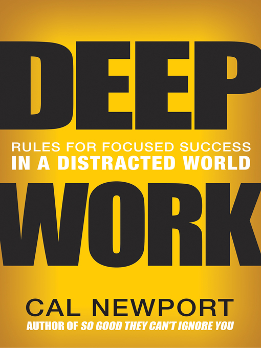 Cover of Deep Work