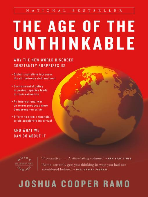Title details for The Age of the Unthinkable by Joshua Cooper Ramo - Available