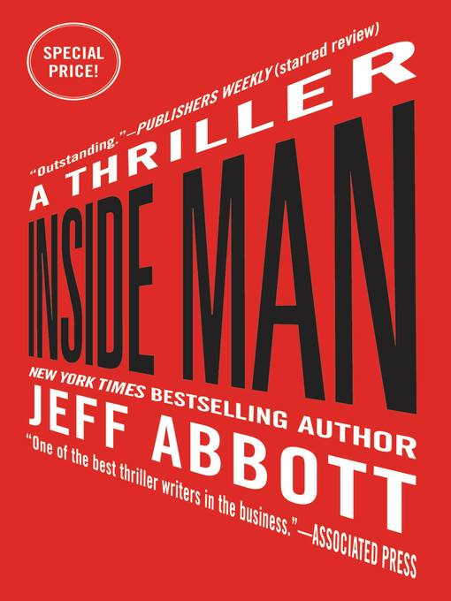 Title details for Inside Man by Jeff Abbott - Available