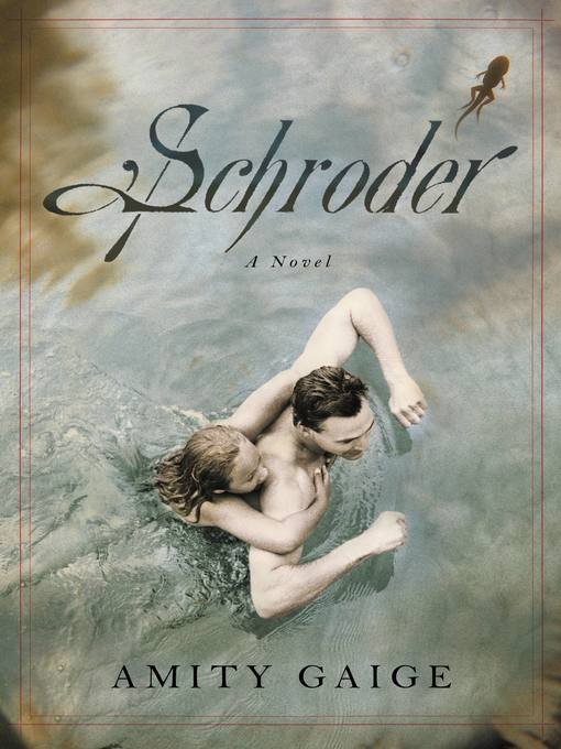 Title details for Schroder by Amity Gaige - Available