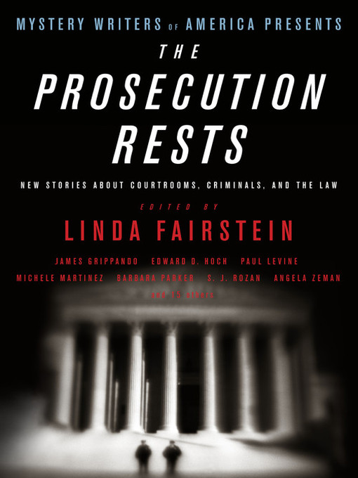 Cover image for Mystery Writers of America Presents the Prosecution Rests
