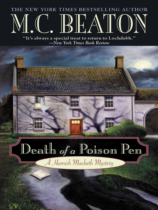 Title details for Death of a Poison Pen by M. C. Beaton - Available