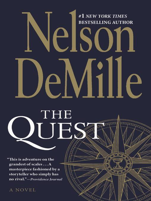 Title details for The Quest by Nelson DeMille - Wait list