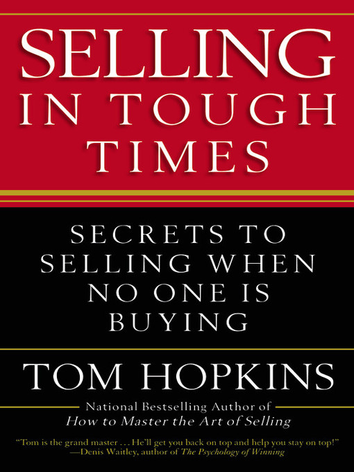 Cover of Selling in Tough Times