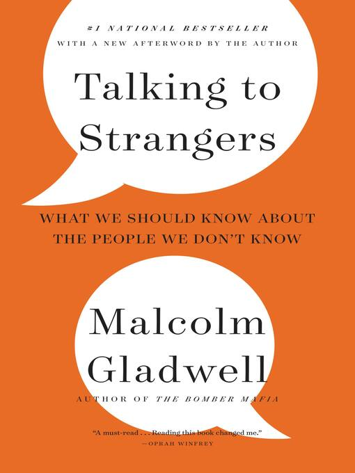 Cover of Talking to Strangers